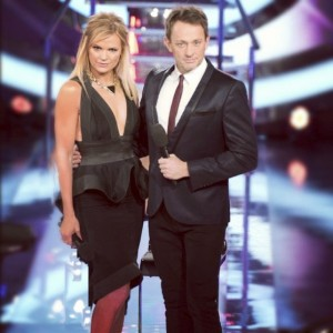Mike Goldman and Sonia Kruger