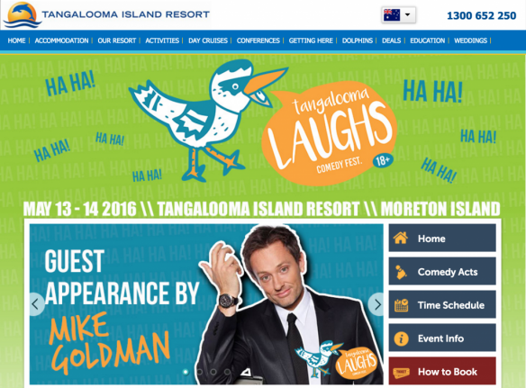 Tangalooma comedy